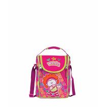 Lonchera Escolar Para Niña Gusanito Mod. Gu60274-p Rosa