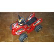 Moto 4 Ruedas De Bateria Para Niños