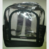 Morral Escolar Transparente
