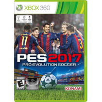 Jogo Pro Evolution Soccer 2017 Pes 17 - Xbox 360 Brasileiro