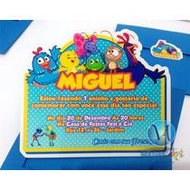 10 Convites Personalizados Infantil Galinha Pintadinha Frete