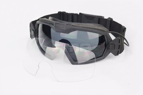 acb4a8be21dd4 Óculos Tático Goggles Fma Com Cooler Paintball Airsoft - R  219,99 ...