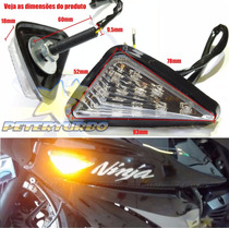 Seta Carenagem Ninja 250r Kawasaki Led Ninjinha 250 Moto