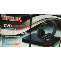 Reproductor Dvd Speler Multiregion Multiformato + Audifonos