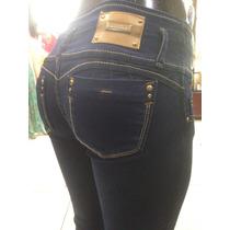 Pantalon Mezclilla Dama Silver Body Mod 2643 Corte 3/4