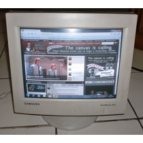 Monitor 15 Samsung Syncmaster 550v Impecable Oferta!