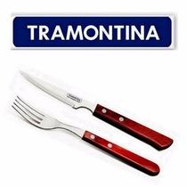 Juego 12 Cubiertos Tramontina Acero Inoxid Cuchillo Tenedor