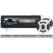 Autoestereo Entrada Usb Mp3 Sd Fm Desmontable Marca X-view