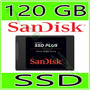 Hd Ssd Sandisk Plus 120gb - 520mb/s Sata 3 (23x Mais Rápido)