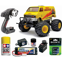 Tamiya Radiocontrol Lunch Box Kit Con Todo P/ Armar 2.4 Ghz