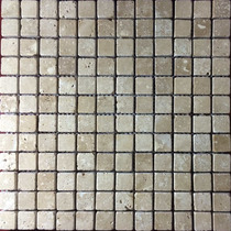 Malla Mosaico Tapete Marmol Travertino 1x1