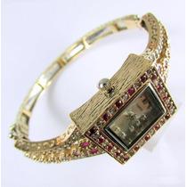 Joyas Turcas: Reloj Turco Original Con Topacios Rubies