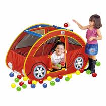 Toca Barraca Futoca Ball + 150 Bolinhas Brinquedo Infantil