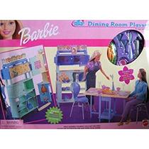 Juguete Barbie Todos Alrededor De La Casa Comedor Set De Ju