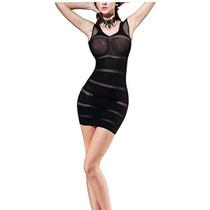 Sexy Mini Vestido Lenceria Erotica Audaz Noche De Passion