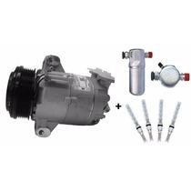 Compressor S10 2.4 Gas/2.8 Diesel Delphi + Filtro E Válvula