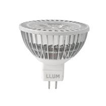 10 Lâmpada Power Led Dicróica Mr16 Gu5.3 7w 12v Llum 3000k