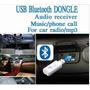 Receptor Usb Bluetooth Para Auto Equipo De Sonido Audio