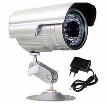 Camera Seguranca Ccd Digital 1/3 Infra 48 Led 1500 Linhas