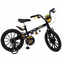 Bicicleta Aro 16 Infantil Batman Bandeirante