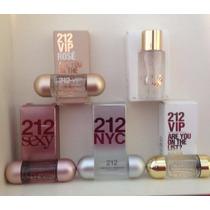 Kit 5 Miniaturas De Perfumes Importados