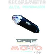 Escapamento Twister Cbx 250 Dore Honda Todas Cores