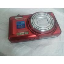 Câmera Digital Olympus Vr- 330 14mp 12.5x Zoom -vermelha
