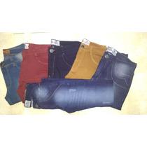 Kit Calça Jeans Atacado Masculina Skinny Lote Com 3 Unidades