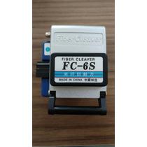 Clivador/cortador De Fibra Óptica Fc-6s Sem Juros!