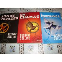 Trilogia Suzanne Collins Jogos Vorazes, Em Chamas, Esperança