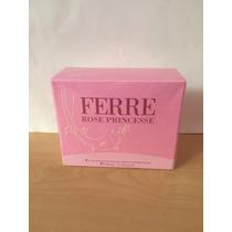 Eau De Toilette Ferre Rose Princesse Mujer Original!!!
