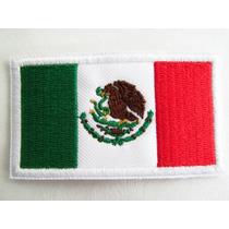 Bandera Mexico Parche Adherible, Uniformes Gotcha Militar