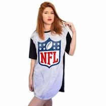 Camisa Nfl Feminina Estilo New Era Raiders Vikings Dallas