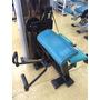 Musculação Biceps Gervasport Supino E Pulley Vitally