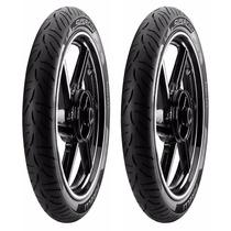 Pneu Pirelli Par Supercity 275/18 + 90/90/18 Cg/ybr/dafra
