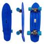 Mini Skate Longboard Grande Rodas Surf Retro Verao Long