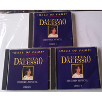 Lupita D Alessio Historia Musical Hall Of Fame 3 Cds Orfeon