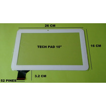 Touch Tablet 10 Tech Pad C 1081hd C 160259a1- Drfpc160t-v1.0
