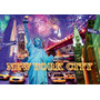 Rompecabezas Ravensburger Luminoso De 1200 Piezas: New York