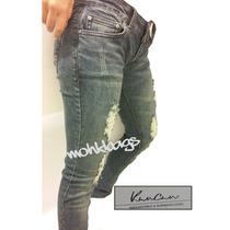 Blue Jeans Pantalon Roto Kan Can