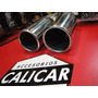 Cola De Escape Doble Boca Acero Inoxidable -calicar-