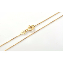 Corrente Veneziana 60cm Em Ouro Amarelo 18k-750