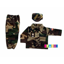 Disfraz Oficio Soldado Tipo G.i. Joe - Disfraces Tudi