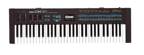 Yamaha dx21 dx27 dx11 dx100 tx81z expansion midi roland for Korg yamaha roland