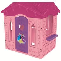 Novo Brinquedo Para Playground Casinha Disney Princesa Rosa