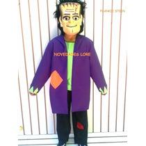 Disfraz Frankenstein Traje Mascara Saco Disfraces Halloween