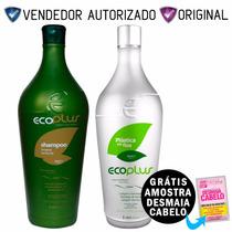 Selagem Térmica Ecoplus Plástica Dos Fios - Kit 2x1000ml