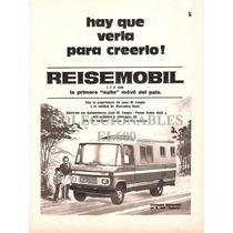 Publicidad Antigua Casa Rodante Reisemobil