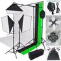 Kit Fotografia Estudio Iluminacion 2000w Telon+envio Gratis