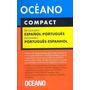 Oceano Compact Diccionario Español Portugues Tapa Dura